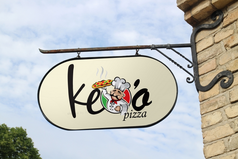 Logo Keoo Pizza