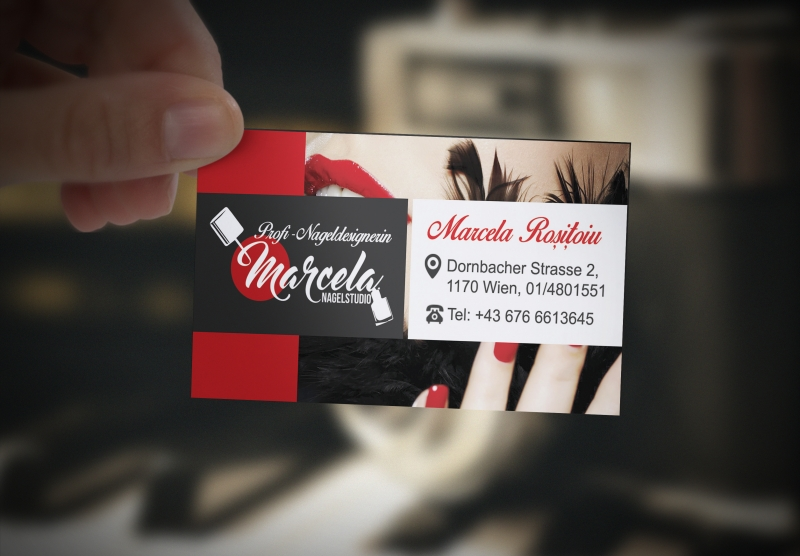 Marcela Nagelstudio Business Card